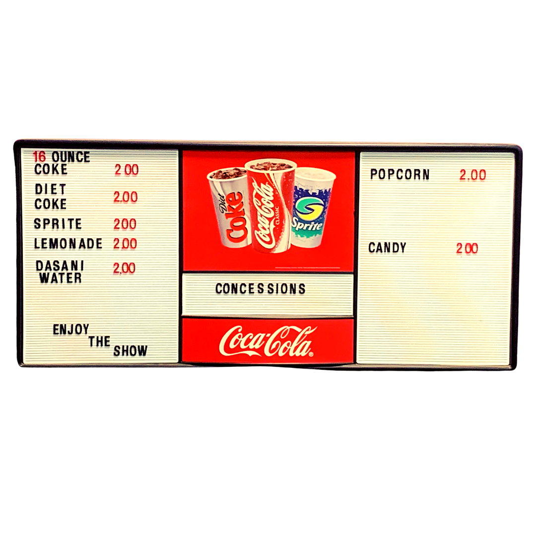Concession Stand Sign