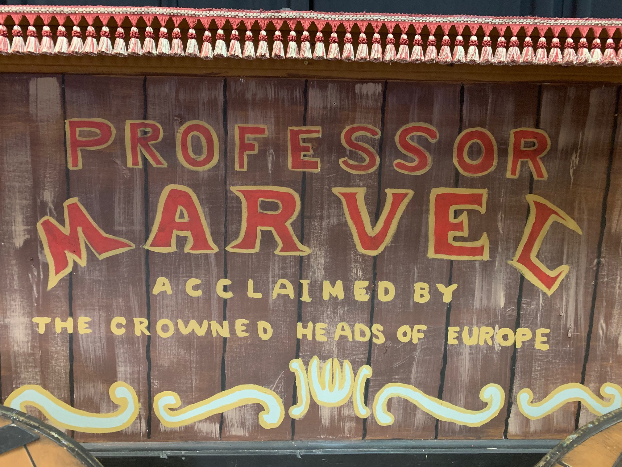 Professor Marvel's Wagon